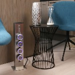 TT 1.0 - Columna Tower Track, 540 mm - Alu - 4 x USB